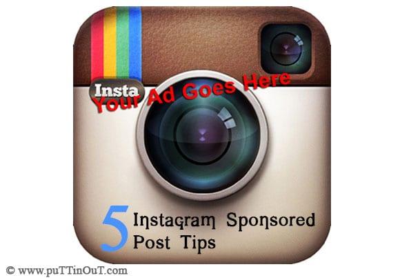 5 Instagram Sponsored Post Tips – Be Prepared!
