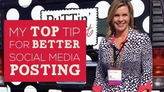Expert Top Tip for Better Social Media Posting
