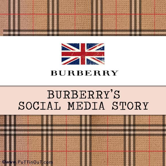 Burberry's Social Media Story
