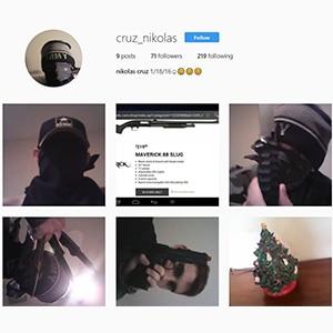 The Disturbing Social Media Comments + Profiles of Parkland, Florida School Shooter – Nikolas Cruz